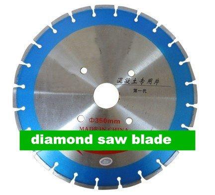 Gowe 35,6cm Laser geschweißt Diamant Sägeblatt | 350mm armiertem Beton Sägeblatt | Flughafen Runway Schneiden Klinge -