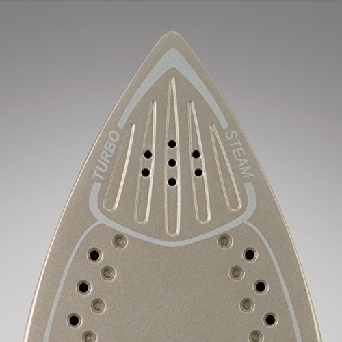 Morphy Richards Turbosteam Pro Steam Iron Pearl Ceramic Soleplate 303123 White Pink Steam Iron