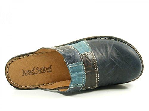 Josef Seibel Rebecca 61, Mules femme Blue (Jeans/Multi)