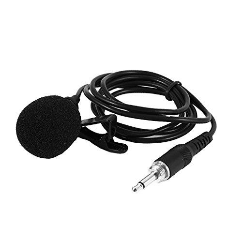 MagiDeal 3.5mm Mini Tie Ansteck Mikrofon Lavalier Clip Mikrofon für Bühnenauftritte
