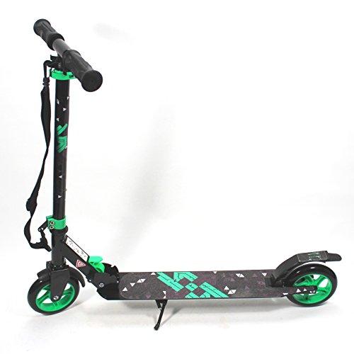 Action SCOOTER 144 mm Speed Wheels High-Rebound 82A ABEC 7 100 kg Alu Roller folding stuntscooter cityroller ~yx 403 3D1L