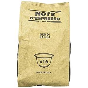 Note D'Espresso Oro di Napoli, Capsule per caffè, esclusivamente compatibili con macchine Nescafé* e Dolce Gusto*, 7 g x…