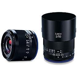 ZEISS Loxia 2/50 für spiegellose Vollformat-Systemkameras von Sony (E-Mount), Schwarz
