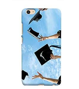 Print Masti Designer Back Case Cover for Vivo V5 (Let's Enjoy Growth Success)