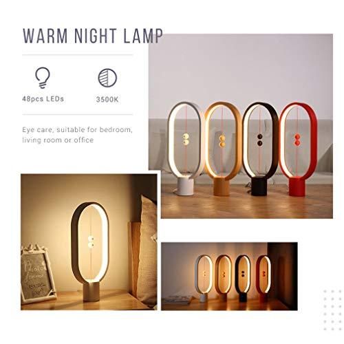 ✺Magnetic Lámpara Equilibrio Creativo Inteligente