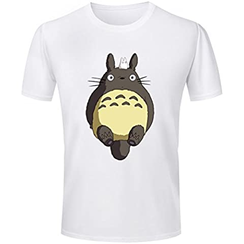 Harajuku Animal Print Men's Kawaii T Shirt My Neighbor Totoro Design