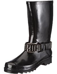 Be Only BOTTE CAPITALE - Botas de agua, talla: 41, Color Negro