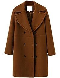 zur Freigabe auswählen tolle Auswahl Verkaufsförderung Brauner Mantel Damen Lang