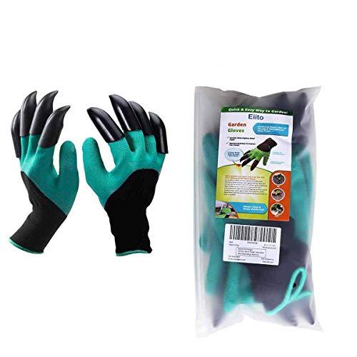Eiito garten handschuhe mit krallen, garten handschuhe mit krallen garden genie gloves...