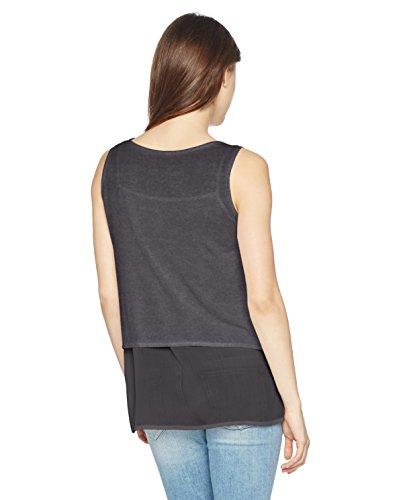 Boss Orange Topies, T-Shirt Femme Noir (Black 001)