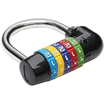 Commerce, Industrie et Science Sgerste Long Cadran Nombre de 4chiffres Code Cadenas à combinaison de sécurité de sécurité Cabinet bagages Verrou Produits de verrouillage et d'étiquetage