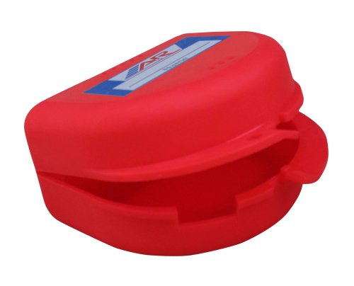 A&R Sports Mouth Guard Case, Red -
