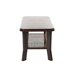 Cello Oasis Four Seater Centre Table (Ice Brown)
