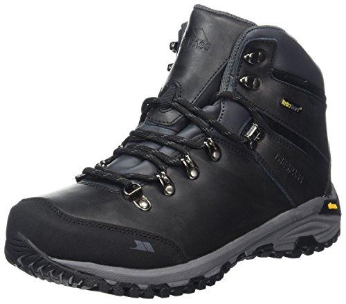 DLX Herren CANTERO Trekking- & Wanderhalbschuhe, Schwarz Black, 45 EU Guard Steel Toe Boot