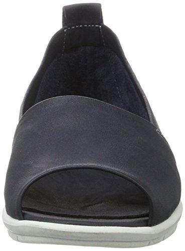 Andrea Conti 0023535, Mocassini Donna blu (dunkelblau)