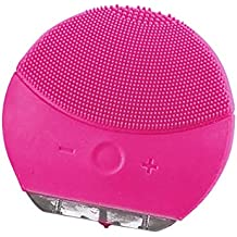 Sonic Cepillo limpiador para el rostro y masaje con temporizador, FDA Grade silicona, recargable