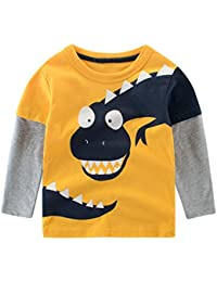 QUICKLYLY Camisetas de Manga Larga para Bebé Niña Niño Niñito Tops Blusas Sudadera Jersey
