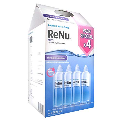 Bausch + Lomb Renu MPS Multifunktions-Lösung, Set 4 x 360 ml