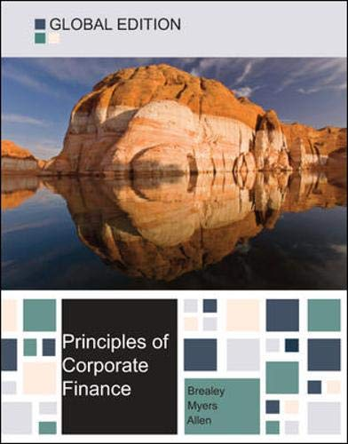 Principles of corporate finance global edition