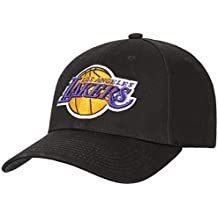 Mitchell   Ness Los Angeles Lakers Low Pro Adjustable NBA Cap Schwarz 2a0658e1f45