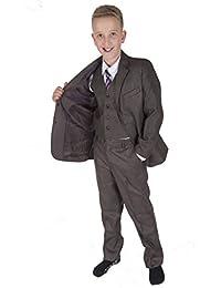 75d8cc09b Cinda 5 Piece Boy Suits Boys Wedding Suit Page Boy Party Prom