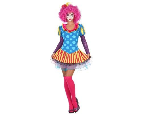 ATOSA 22968 - Clown weibliches Kostüm, Größe M-L, ()