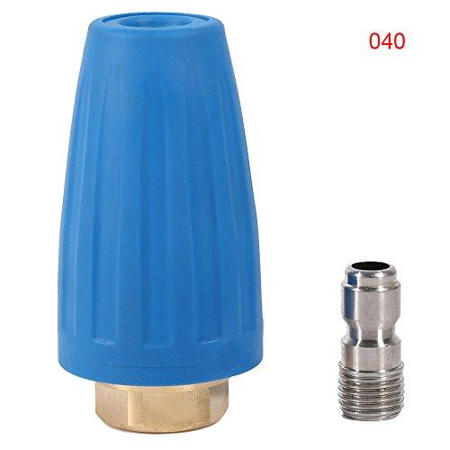 Hochdruck-Turbodüse, rotierend und schwenkbar, 207 bar, Zubehör für Hochdruckreinigungspistole 0,6 cm (1/4 Zoll), GPM 2.5-4.0, SP21383