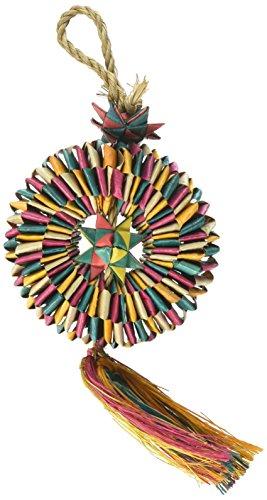 Rosewood 22304 Woven Wonders Vogelspielzeug, Shredder Reifen, klein/mittel -