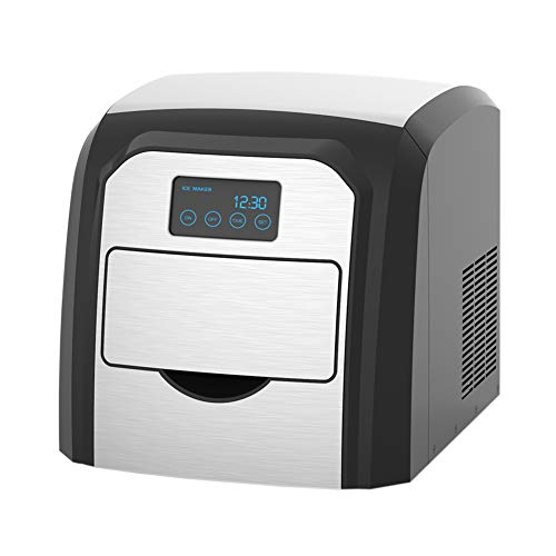 Tragbare Desktop-Eismaschine - Timing Schaltmaschine, 10 Kg EIS Kann Alle 24 Stunden Hergestellt Werden, Schubladentyp Nehmen EIS, Hausbar Cold Drink Shop Eismaschine 120w -