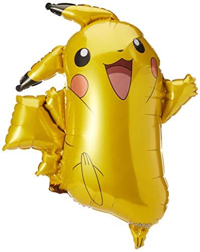 Generique - Ballon Aluminium Pikachu Pokémon 62 x 78cm