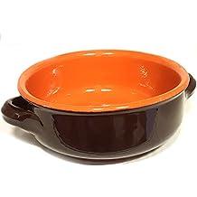 Tegamino ciotola in Terracotta della Colì Linea Bruna diametro 14cm per sughi zuppe minestroni