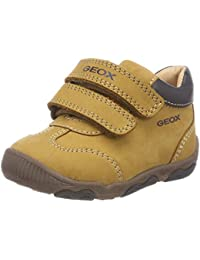 Geox Kids' New Balu Boy 15 All Leather Adventure Shoe Sneaker