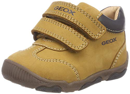 Geox B New Balu' Boy A, Zapatillas para Bebés, (Biscuit/Dk Navy C5b4p),...