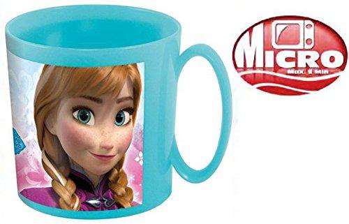 Mikrowellen-Becher Anna Und Elsa Kinderbecher (1 Stück, Frozen Eiskönigin)