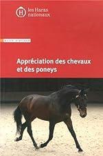 Appréciation des chevaux et des poneys - 8e édition. de IFCE