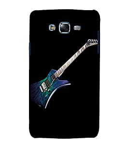 printtech Music Guitar Back Case Cover for Samsung Galaxy Quattro i8552 / Samsung Galaxy Quattro Win i8552