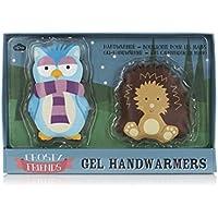 Frosty Friends Gel-Handwärmer, Eule und Igel-Design, wiederverwendbar, 1 Paar preisvergleich bei billige-tabletten.eu
