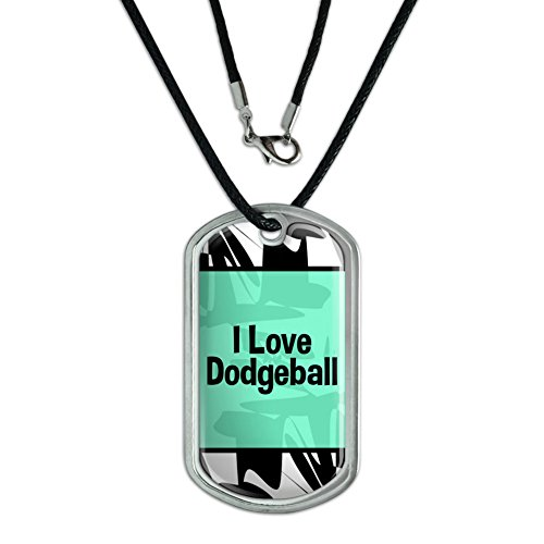 dog-tag-pendant-necklace-cord-i-love-heart-sports-hobbies-co-ea-dodgeball