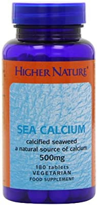 Higher Nature Sea Calcium Pack of 180 by Higher Nature