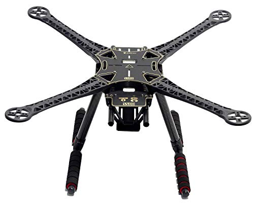 S500 Quadcopter Fuselage Frame Kit PCB Version w/ Carbon Fiber Landing Gear Skid by powerday?