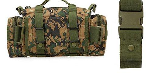 Zll/3P tattico tasca fotocamera borsa multifunzione Magic tasche Outdoor equitazione tasca borsa a tracolla, three color Giungla