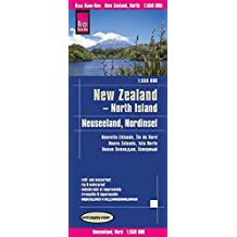 Reise Know-How Landkarte Neuseeland, Nordinsel (1:550.000): world mapping project