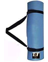 Tiger Tri - Esterilla para yoga y pilates (acolchada, 180 cm x 60 cm x 10 mm)