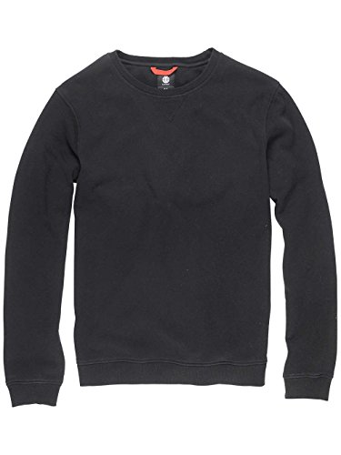 Herren Strickjacke Element Crew Strickpullover Flint Black
