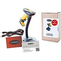 scandex sx-3243Scanner di codici a barre CCD e supporto. 12mesi garanzia Regno Unito. Manuali E configurazione Video disponibili tramite Ansa di Chiusi.