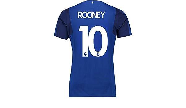 a0da0237c 2017 2018 Everton FC Stadium Home Soccer Football Jersey 10 Wayne Rooney   Amazon.co.uk  Sports   Outdoors