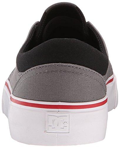 DC - Trase Tx M Shoe Frn, Sneaker basse Uomo Grey/black/red