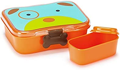 Skip hop Zoo 4 Piece Lunch Kit - Dog (Multicolor)
