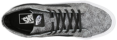 Vans Sk8-Hi, Sneakers Hautes Mixte Adulte Gris (Pebble Snake/Gray/Black)