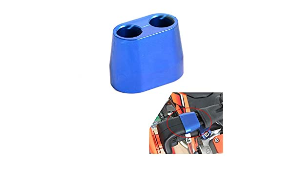 Throttle Cable Protection Guard Cover Blue For KTM 350 EXC-F 450 EXC  2013-2016
